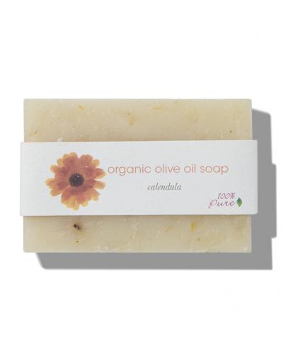 100% Pure  Calendula Olive Oil Soap