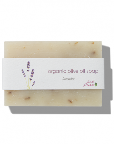 100% Pure  Lavender Olive Oil Soap