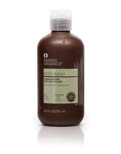 Pangea Organics  Canadian Pine with White Sage Body Wash