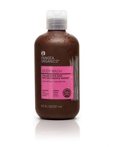 Pangea Organics  Italian White Sage, Geranium & Yarrow Body Wash