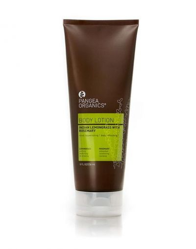 Pangea Organics  Indian Lemongrass with Rosemary Body Lotion