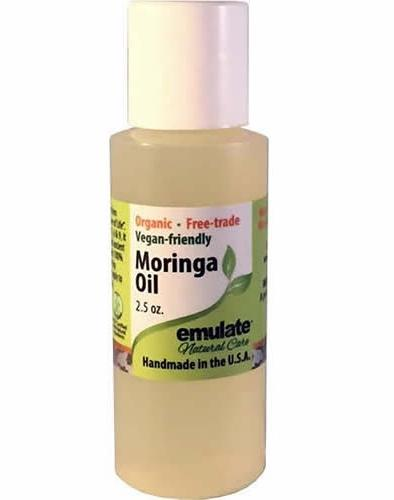 Emulate Natural Care 100% Pure Organic Moringa Seed Oil
