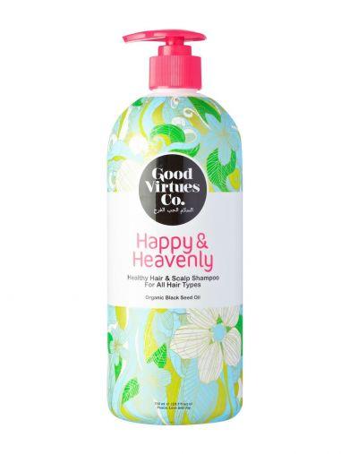 Good Virtues Co. HAPPY & HEAVENLY Healthy Hair & Scalp Shampoo