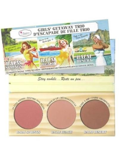 The Balm Girls' Getaway Trio