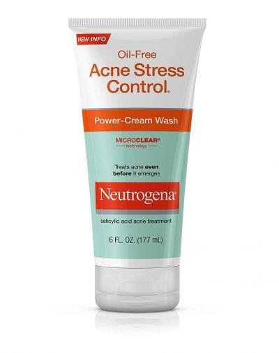 Neutrogena Oil-Free Acne Stress Control Power Cream Wash