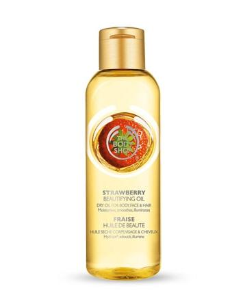 The Body Shop Strawberry Beautifying Oil