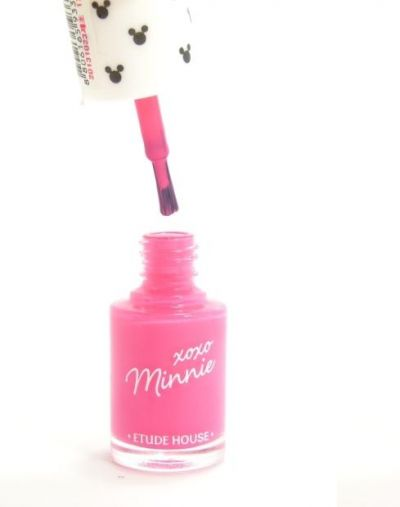 Etude House XoXo Minnie Bubble Pink Nail Polish