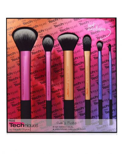 Real Techniques Sams Pick Limited Edition Brush Set