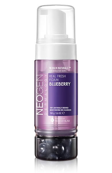 Real Fresh Foam Cleanser Blueberry