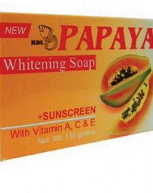 Rdl Papaya Whitening Soap Review Female Daily