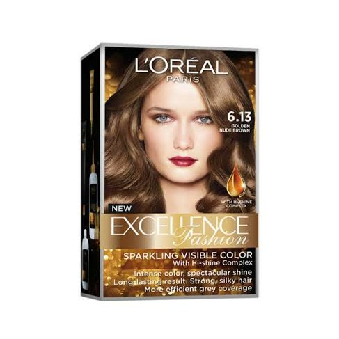 L Oreal Paris Excellence Fashion 6 13 Golden Nude Brown Review Female Daily