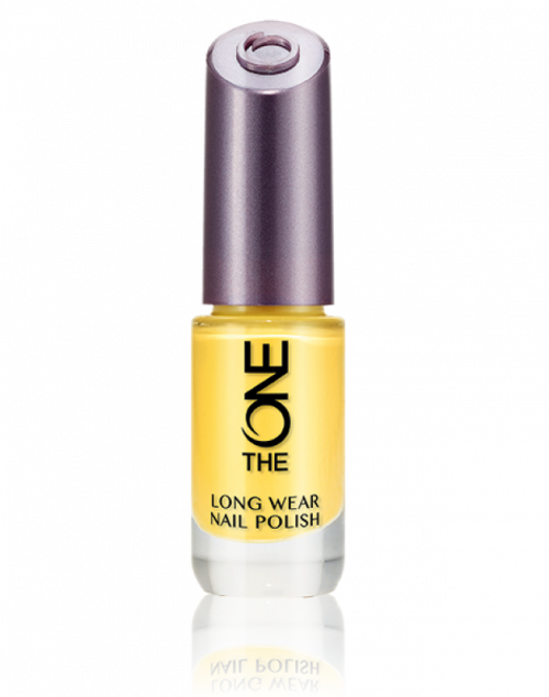 Oriflame The One Long Wear Nail Polish Lemon Sorbet Review Female Daily