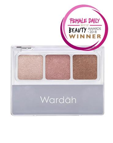 Wardah EyeXpert Nude Colours Eyeshadow Classic - Review Female Daily