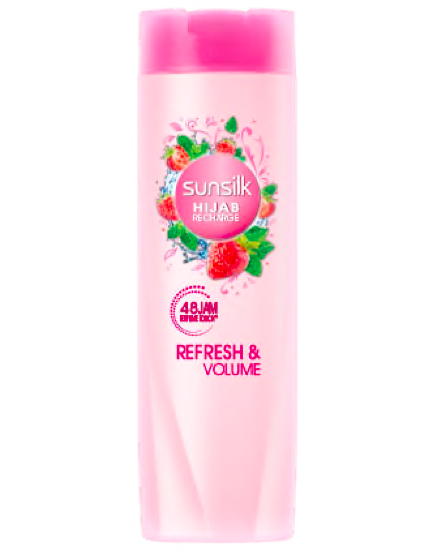 Sunsilk Hijab Recharge Shampoo Refresh And Volume Review Female