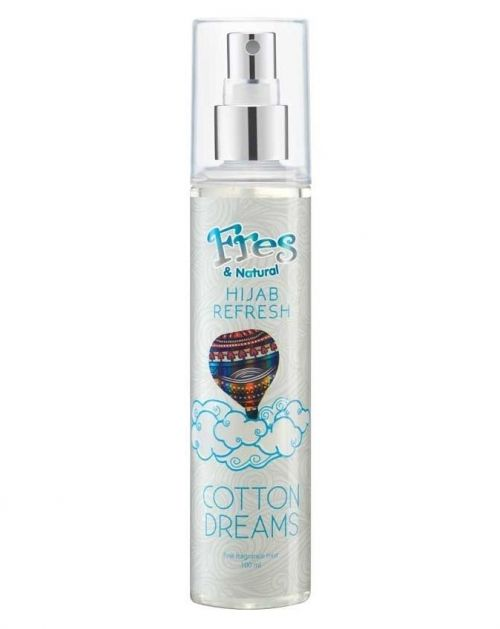 Fres And Natural Hijab Refresh Spray Cotton Dreams Review Female Daily