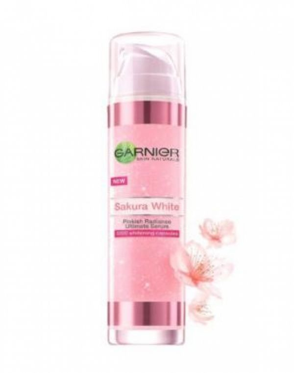 Sakura White Pinkish Radiance Ultimete Serum