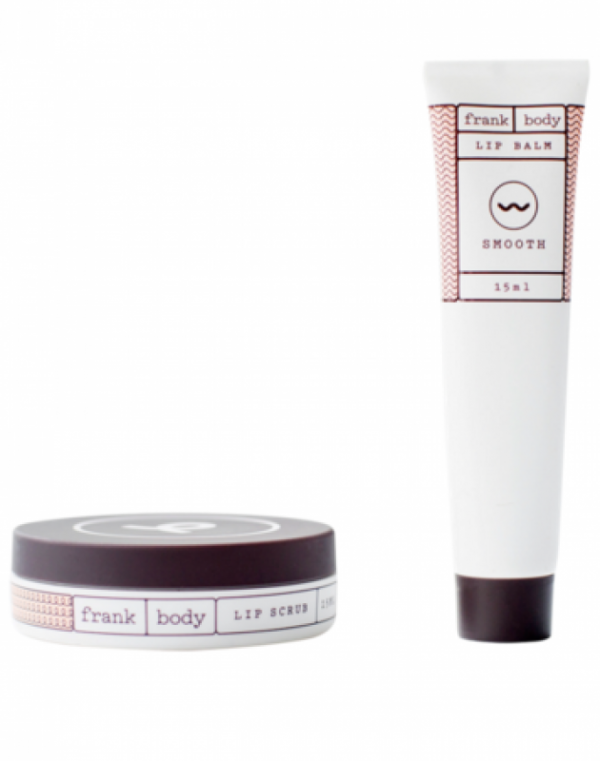 Lip Scrub and Lip Balm Duo