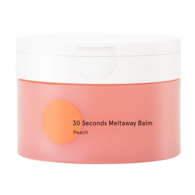 Dear Me Beauty 30 Seconds Meltaway Balm Peach - Review Female Daily