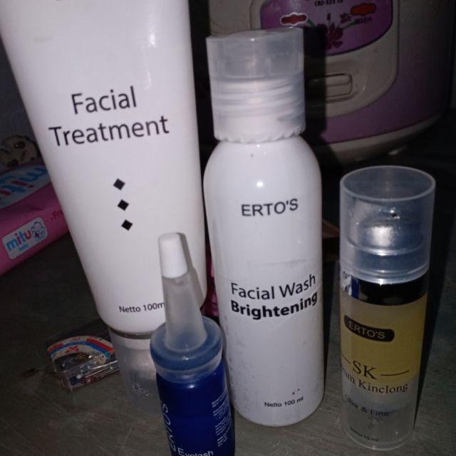Ertos Facial Treatment Facial Wash Serum Kinclong Serum