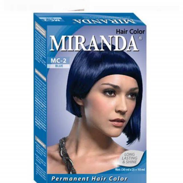 Miranda Permanent Hair Color Mc 2 Blue Review Female Daily