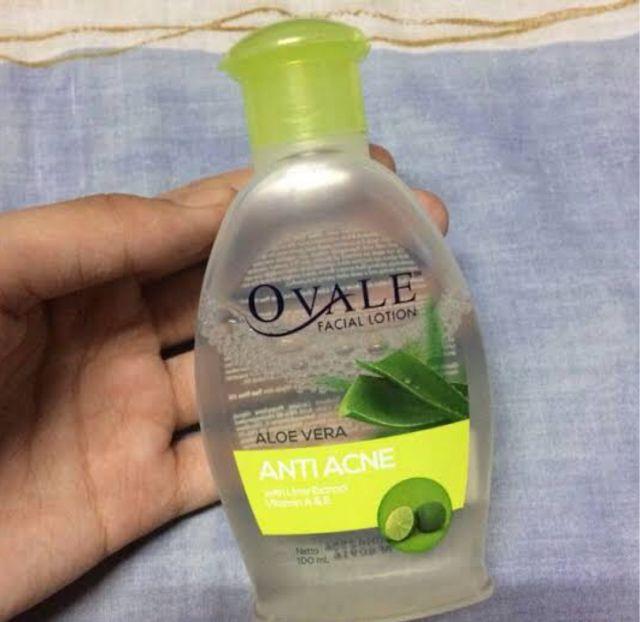 Ovale. Facial Lotion. Aloe Vera Anti Acne