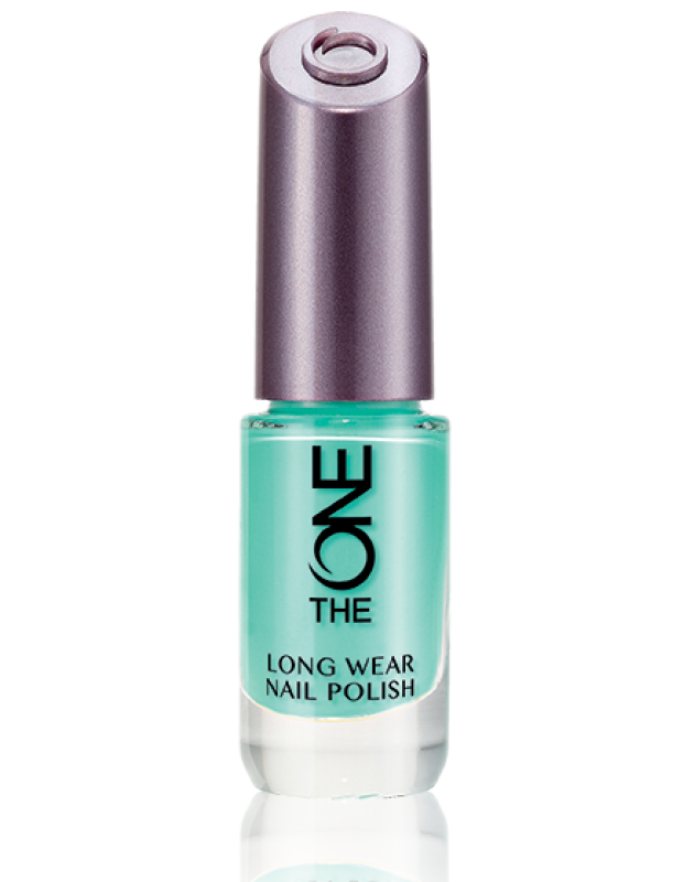 Oriflame The One Long Wear Nail Polish Mint Zest Review Female Daily