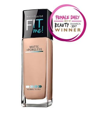 4f1ee5a51ef Fit Me! Matte + Poreless Foundation - Review Female Daily