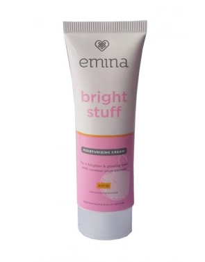 Review Emina Bright Stuff Moisturizing Cream Untuk Kulit Berjerawat  Mujarab