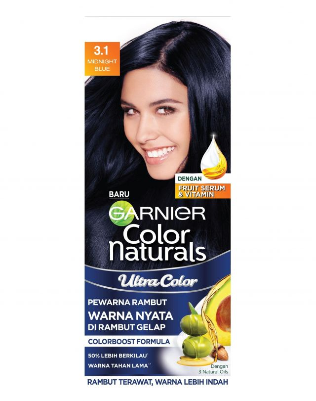 Garnier Color Naturals Ultra Color Midnight Blue Review Female Daily