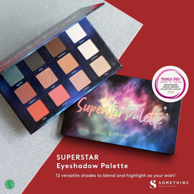 Focallure 6 Colors Eyeshadow Palette No #4 Review - Heres