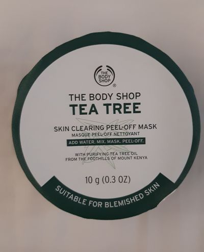 Tea Tree skin clearing peel off mask