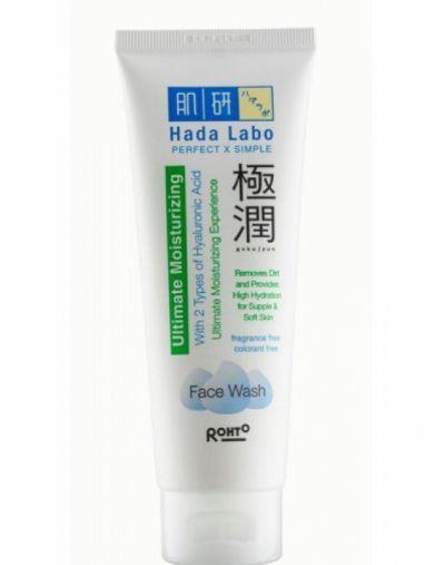 Hada Labo Gokujyun Ultimate Moisturizing Face Wash Beauty ...