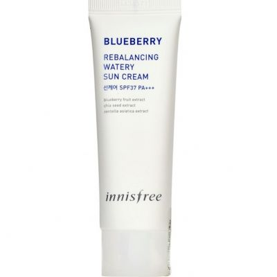 Blueberry Rebalancing Watery Sun Cream