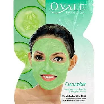 OVALE FACIAL MASK CUCUMBER FOR OILY FACE