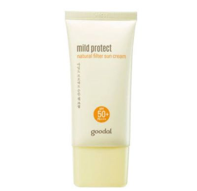 Mild Protect Natural Filter Sun Cream SPF 50+ PA+++