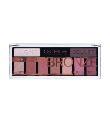 The Blazing Bronze Collection Eyeshadow Palette