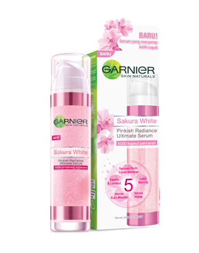 Sakura White Pinkish Radiance Ultimate Serum